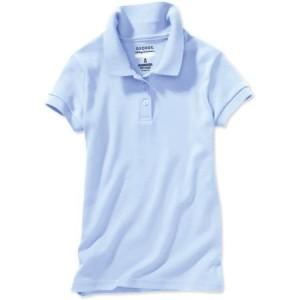 light blue uniform shirt